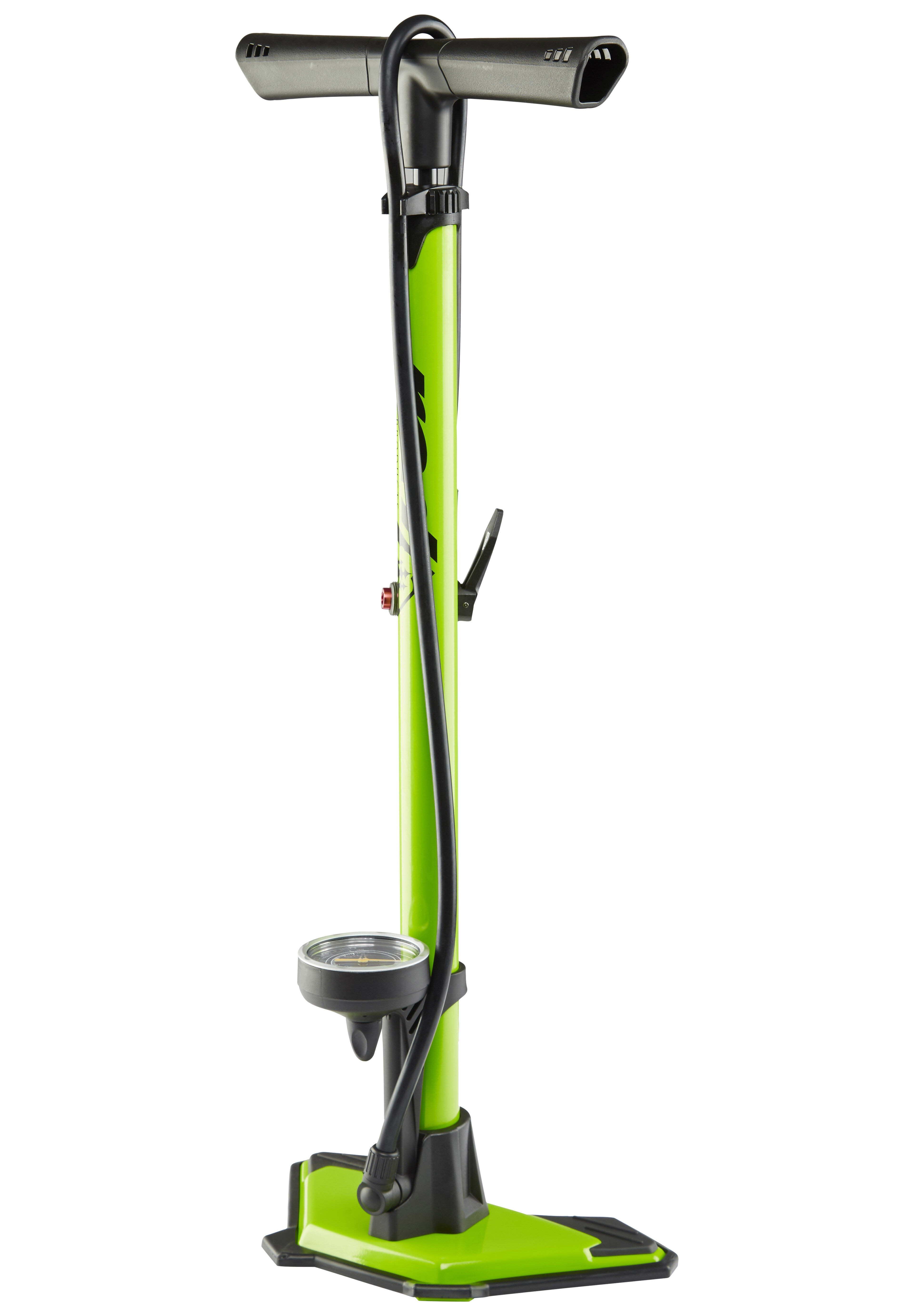 Red Cycling Products Big Air Bike Pump Green At Bikester Co Uk